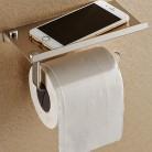 Высокое качество Ванная комната туалетной Бумага держатель настенный кронштейн Нержавеющаясталь Ванная комната WC Бумага держатель телефона с полки стойки купить на AliExpress