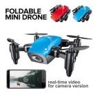 JD JY018 FPV Радио R/C портативный Квадрокоптер 720P камера WiFi складной селфи Карманный Дрон VS E58 пульт дистанционного управления Flycam вертолет