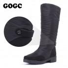 1677.87 руб. 38% СКИДКА|GOGC/зимние сапоги; женские сапоги до колена; Высококачественная Водонепроницаемая Брендовая женская обувь; теплая зимняя обувь; женская обувь на плоской подошве; 9893-in Теплые сапоги from Туфли on Aliexpress.com | Alibaba Group
