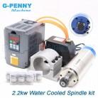 17882.37 руб. 10% СКИДКА|2.2kw водяной охладитель шпинделя комплект ER20 CNC шпиндельный двигатель 80 * 230 и 2.2kw инвертор VFD и 80 мм кронштейн и водяной насос и 8 шт ER20 0.008mm точность цанги купить на AliExpress