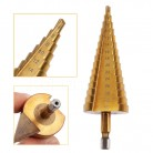 4-20/4-22/4-32 mm Step Drill Bit HSS Titanium Coated Drilling Power Tool for Metal High Speed Steel Wood Hole Cutter Cone Drill