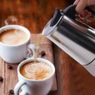 Coffee Pot Stainless Steel Kettle Coffee Brewer Kettle Pot Portable Espresso Coffee Maker Moka Pot Pro Barista Pot on AliExpress