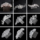 US $2.49 25% OFF|Mecresh Leaf Crystal Wedding Hair Accessories For Women Luxury Rhinestone Bridal Hair Combs 2019 Fashion European Design FS133-in Hair Jewelry from Jewelry & Accessories on Aliexpress.com | Alibaba Group