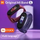 2036.41 руб. |В наличии глобальная версия Xiaomi mi Band 4 Smart mi band цветной экран браслет пульсометр фитнес музыка Bluetooth 5,0 50 м водонепроницаемый-in Смарт-браслеты from Бытовая электроника on Aliexpress.com | Alibaba Group