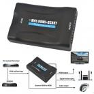 733.98 руб. 19% СКИДКА|Kebidumei 1080P HDMI к SCART Аудио Видео высококлассные конвертер AV сигнала адаптер HD приемник ТВ DVD США/ЕС мощность Plug высокое качество купить на AliExpress