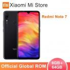 11639.49 руб. |Xiaomi Redmi Note 7 с глобальной прошивкой, 6 ГБ ОЗУ, 64 Гб ПЗУ, мобильный телефон, Восьмиядерный процессор Snapdragon 660 6,3