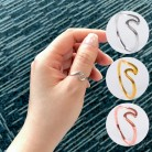 € 0.36 55% de DESCUENTO|Mossovy onda de aleación de Anillos de plata encantos anillo de oro Anillos de boda para las mujeres joyería de moda Mujer Anillos de  Oro rosa Anillos simples para mujer-in Anillos from Joyería y accesorios on Aliexpress.com | Alibaba Group