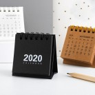 2020 Calendar Black White Grey Series Desktop Calendar Dual Daily Schedule Table Planner School Office Supplies 2020 New Year on AliExpress