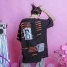 1607.22 руб. 9% СКИДКА|Jasmine хип хоп BF простое письмо напечатано свободно оверсайз пятиминутная длинная футболка-in Футболки from Женская одежда on Aliexpress.com | Alibaba Group