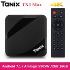 2131.84 руб. |Tanix TX3 Max Smart tv Box android 7,1 Qual core 4 K Amlogic S905W 2 Гб 16 Гб комплект bluetooth top Box HDMI медиа плеер на TX3 Mini-in ТВ-приставки from Бытовая электроника on Aliexpress.com | Alibaba Group