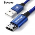 134.37 руб. |Baseus Реверсивный Micro USB кабель для samsung Xiaomi Redmi Note 4X мобильного телефона синхронизации данных кабель двухсторонний USB Зарядное устройство кабель купить на AliExpress