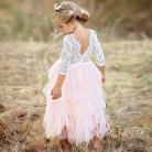 386.57 руб. 30% СКИДКА|Сказочное платье принцессы для девочек на день рождения, платье для первого причастия, платье для выпускного вечера, пышные платья для девочек 3 8 т вечерние, Vestidos Infantil-in Платья from Мать и ребенок on Aliexpress.com | Alibaba Group