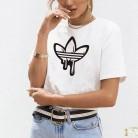 263.62 руб. 10% СКИДКА|2018 новые женские футболки с принтом в стиле Харадзюку, большие размеры, повседневные футболки, летние женские футболки с коротким рукавом, женская одежда-in Футболки from Женская одежда on Aliexpress.com | Alibaba Group