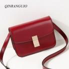 1049.92 руб. 25% СКИДКА|QINRANGUIO женские сумки мессенджеры высокого качества сумки для женщин 2019 маленькая сумка на плечо женские модные сумки через плечо для женщин-in Сумки с ручками from Багаж и сумки on Aliexpress.com | Alibaba Group