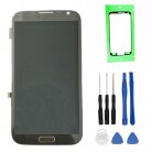 100% Tested High Quality for Samsung GALAXY Note 2 N7100 N7105 LCD With Frame Display+Touch Screen Digitizer Assembly+Tools