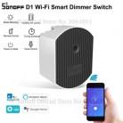 SONOFF D1 Wifi умный диммер DIY умный дом мини-переключатель модуль регулировка яркости света приложение/голос/RM433 RF дистанционное управление