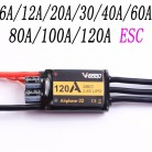 VGOOD Brushless ESC 6A / 12A / 20A / 30 / 40A / 60A / 80A / 100A / 120A 2S 32-Bit With 1.5A SBEC for RC Airplane Accs