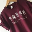 € 6.31 5% de DESCUENTO|Camiseta mujer plantas son amigos moda Camisas Mujer 2019 Rosa vintage letra impresa harajuku camiseta Mujer Camisas talla grande-in Camisetas from Ropa de mujer on Aliexpress.com | Alibaba Group