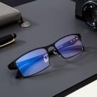 US $7.21 27% OFF|Tytanowe okulary komputerowe blokujące niebieskie światło filtr blokujący zmniejsza cyfrowe zmęczenie oczu jasne regularne okulary do gier okulary TR90 w Niebieskie Światło Blokowanie Okulary od Dodatki do odzieży na AliExpress - 11.11_Double 11Singles' Day