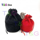 TOP Quality Dice bag Jewelry Packing Velvet    Drawstring s & Pouches for packing gift game 3 colors Board Game-in Board Games from Sports & Entertainment on AliExpress