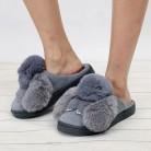 539.1 руб. 35% СКИДКА|Большие размеры; женские милые утепленные тапочки; сезон осень; милая повседневная обувь с кроличьими животными; женская обувь; коллекция 2018 года; зимняя мягкая обувь для девочек-in Тапочки from Туфли on Aliexpress.com | Alibaba Group