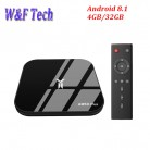 US $49.27 35% OFF|A95X Plus TV Box Android 8.1 Amlogic S905 Y2 4 GB DDR4 32 GB ROM 2.4G/5G wiFi USB3.0 BT4.2 Ondersteuning 4 K H.265 Smart Media Player-in Set-top Boxes van Consumentenelektronica op Aliexpress.com | Alibaba Groep