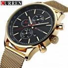 1031.87 руб. 44% СКИДКА|CURREN Мужские кварцевые часы модные повседневные стальные спортивные деловые мужские часы relojes кварцевые часы Relogio Masculino 8227-in Повседневные часы from Ручные часы on Aliexpress.com | Alibaba Group
