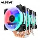 1397.9 руб. 21% СКИДКА|ALSEYE кулер для процессора 6 Heatpipe 3 RGB вентилятор 4pin ШИМ 90 мм куллер для процессора Высокое качество процессор охлаждения новое поступление-in Вентиляторы и охлаждение from Компьютер и офис on Aliexpress.com | Alibaba Group