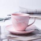 672.4руб. 11% СКИДКА|1 шт., современный минималистичный мраморный керамический кофейный набор, фарфоровая чайная чашка и блюдце, набор для подарка, синий/зеленый/розовый-in Чашки и соусницы from Дом и животные on AliExpress - 11.11_Double 11_Singles' Day