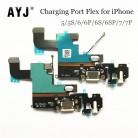 126.08 руб. 5% СКИДКА|AYJ USB зарядная станция Разъем для iPhone 5 5S 6 6S 7 Plus 4,7 5,5 наушников аудио разъем зарядное устройство порты и разъёмы шлейф купить на AliExpress