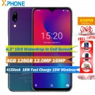 US $179.99 28% OFF|UMIDIGI One Max 4GB 128GB Android 8.1 Mobile Phone 6.3'' Face Unlock Fingerpringt ID Wireless Charge NFC OTG Dual 4G Smartphone-in Cellphones from Cellphones & Telecommunications on Aliexpress.com | Alibaba Group
