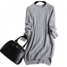 Новый бренд высокого качества кашемировый свитер дамы осенне зимние женские негабаритных Длинный свитер купить на AliExpress