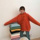 1341.5 руб. 20% СКИДКА|9 цветов, Осень зима 2018, свободный Однотонный пуловер с длинными рукавами, толстые толстовки, женские толстовки (F3606)-in Толстовки и кофты from Женская одежда on Aliexpress.com | Alibaba Group
