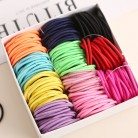 US $1.31 67% OFF|AIKELINA 100pcs/lot 3CM Cute Girl Ponytail Hair Holder Hair Accessories Thin Elastic Rubber Band For Kids Colorful Hair Ties-in Hair Accessories from Mother & Kids on Aliexpress.com | Alibaba Group