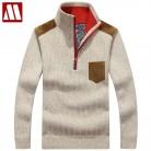 1900.04 руб. 45% СКИДКА Теплые зимние свитеры для женщин для мужчин s пуловер толстый повседневное мужчин Трикотаж классические пуловеры среднего возраста смеш купить на AliExpress