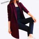 1642.27 руб. |AISHGWBSJ 2019 новый весенне осенний вязаный свитер кардиган женский зимний жакет свободный большой ярдов ДЖОКЕР Длинный свитер пальто QYX146-in Кардиганы from Женская одежда on Aliexpress.com | Alibaba Group