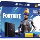 Купить Игровая приставка Sony PlayStation 4 Pro черный + дополнительные материалы для Fortnite по низкой цене с доставкой из маркетплейса Беру