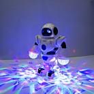 732.62 руб. 15% СКИДКА|2018 новые детские Электронные Smart Space Танцы робот с музыкой мигающий светодио дный легкая прогулочная игрушки Рождественский подарок на Новый год для детей купить на AliExpress