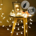 US $2.86 60% OFF|Beautiful Led Stars Holiday Lights String Battery Powered Fairy Lights Christmas New Year Holiday Decoration Light(No battery)-in LED String from Lights & Lighting on Aliexpress.com | Alibaba Group