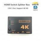 45.14 руб. |HDMI переключатель 3 порта 4 K * 2 K переключатель разветвитель коробка Ultra HD для DVD HDTV для Xbox для PS3 PS4 hdmi конвертер-in Кабели HDMI from Бытовая электроника on Aliexpress.com | Alibaba Group