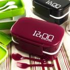 680.31 руб. 27% СКИДКА|Большая емкость 1400 мл двухслойный пластик ланч бокс 12:00 микроволновая печь порционная коробка Bento для хранения еды контейнер Ланчбокс BPA бесплатно-in Коробки для обеда from Дом и сад on Aliexpress.com | Alibaba Group