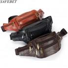 498.77 руб. 37% СКИДКА|SAFEBET модный бренд Для мужчин Натуральная кожа Талия пакеты Для мужчин организатор путешествий поясная необходимость Чехол для мобильного телефона на ремень сумка купить на AliExpress