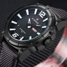 1176.8 руб. 90% СКИДКА|NAVIFORCE Лидирующий бренд военные часы мужские модные повседневные парусиновые кожаные спортивные Кварцевые Мужские наручные часы Relogio Masculino-in Спортивные часы from Ручные часы on Aliexpress.com | Alibaba Group