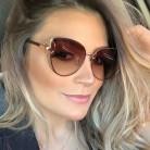 Роскошные итальянские брендовые дизайнерские Винтажные Солнцезащитные очки женские кошачий глаз солнцезащитные очки в ретро блестящей оправе оттенки женские очки Oculos 2018 UV400 купить на AliExpress