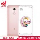 8541.34 руб. |Глобальный Встроенная память Xiaomi Redmi 5 плюс 3 GB Оперативная память 32 ГБ Встроенная память 5,99