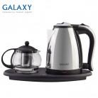1865.0 руб. |Чайник электрический Galaxy GL 0401 (Мощность 2035 Вт, объем металлического чайника 1.8 л, объем стеклянного заварочного чайника 1 л)-in Электрические чайники from Техника для дома on Aliexpress.com | Alibaba Group