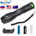 US $4.67 |C LED Flashlight 18650 zoom torch waterproof flashlights  T6 9000LM 5 mode led Zoomable light For 3x AAA or 3.7v Battery-in LED Flashlights from Lights & Lighting on Aliexpress.com | Alibaba Group