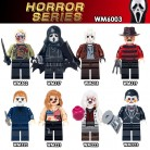 US $6.99 |Horror 8pcs/set Building Blocks Theme Movie Black Friday Jason Scream Killer Freddy Krueger Zambie girl Bricks Toys for children-in Blocks from Toys & Hobbies on Aliexpress.com | Alibaba Group