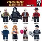 US $6.99 |Horror 8pcs/set Building Blocks Theme Movie Black Friday Jason Scream Killer Freddy Krueger Zambie girl Bricks Toys for children-in Blocks from Toys & Hobbies on Aliexpress.com | Alibaba Group