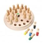 578.55руб. 46% СКИДКА Детская Деревянная шахматная палочка с памятью, детская развивающая игрушка для раннего развития, 3D головоломка, семейные вечерние повседневные игровые пазлы, игра с памятью-in Пазлы from Игрушки и хобби on AliExpress